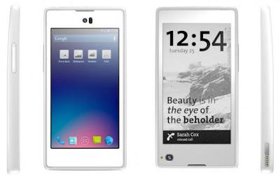 YotaPhone dengan dua layar depan dan belakang akan mengubah cara orang menggunakan smartphone