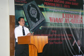 Pelantikan Pemuda Bulan Bintang dan Launcing Waqaf Al Qur'an