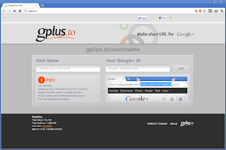 Shorten Google+ Profile URL