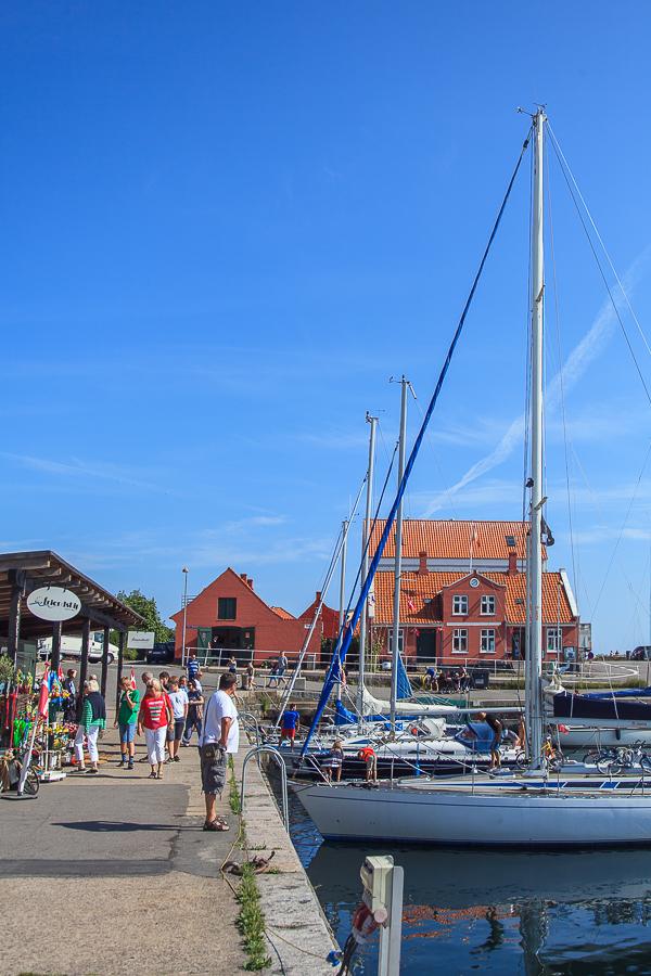 Amalie loves Denmark - Der Hafen von Svaneke auf Bornholm