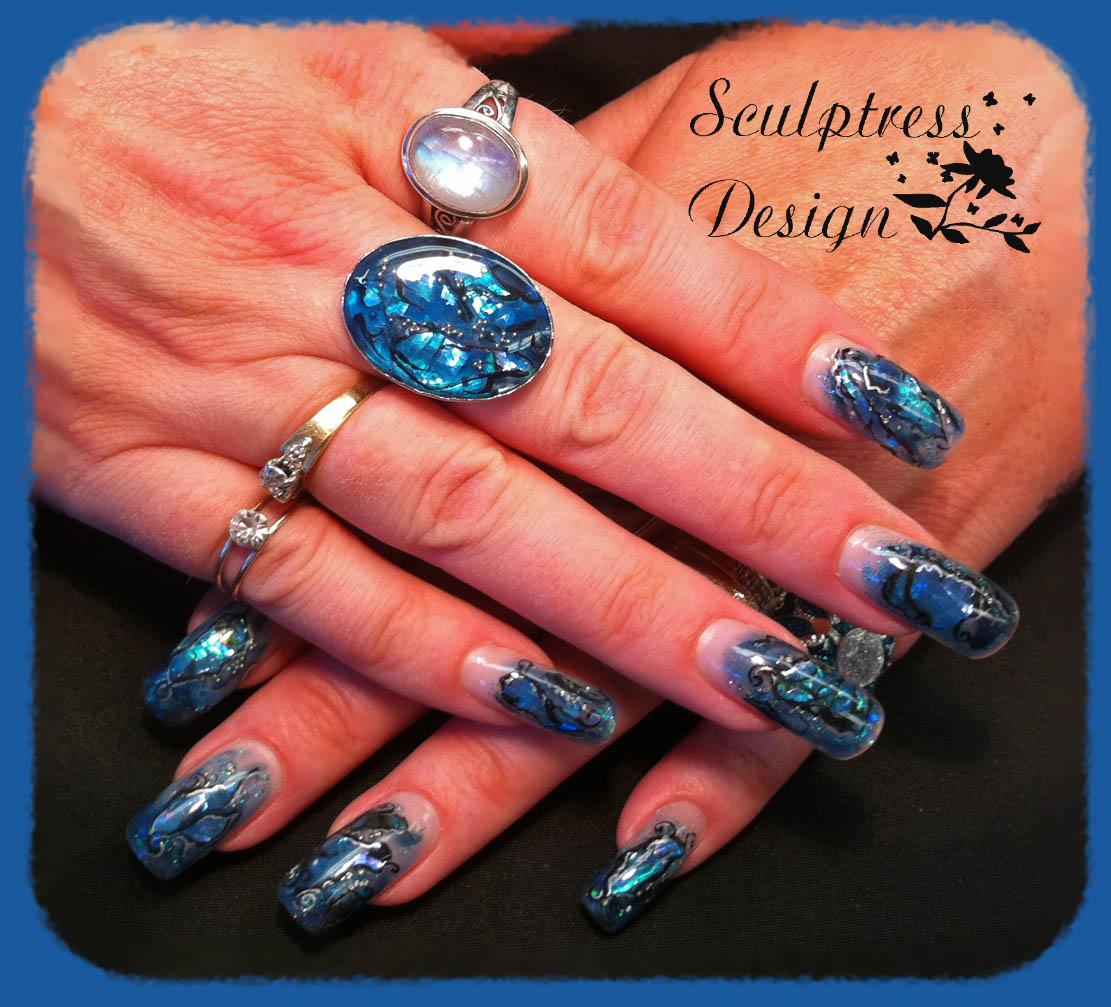 Nail Art Designs 2011: Sculptress Design Nail Studio: May Nail Designs 2011