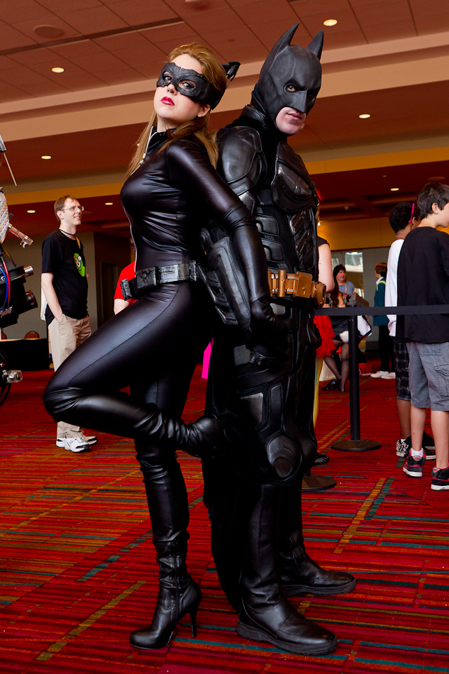 catwoman Batman cosplay and