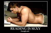 Dean Winchester Reading is sexy