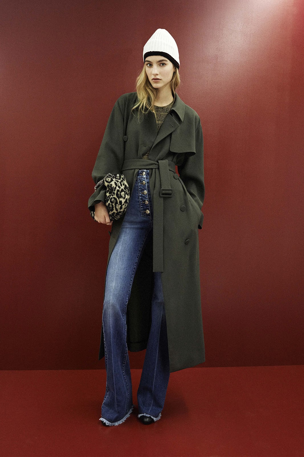 transitional style inspiration from the catwalk / how to wear denim fall-winter 2015 / trends / inspiration / Sonia Rykiel / via fashionedbylove.co.uk / british fashion & style blog