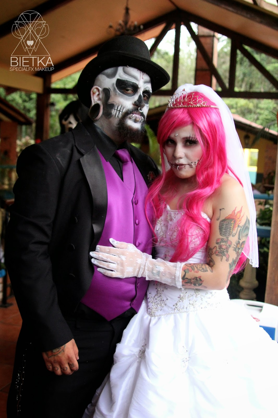 Costume Wedding Theme Specialfx Makeup