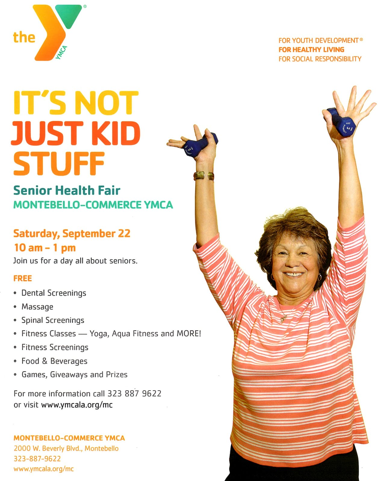 Senior Health Fair Flyer Senior Health Fair Montebello