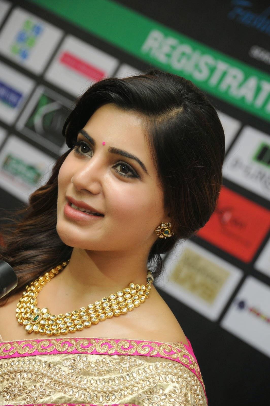 Samantha gorgeous photos in saree-HQ-Photo-1