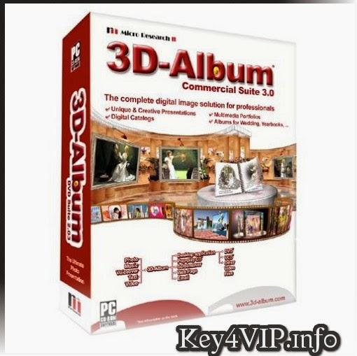 3D Album 3.29 Full Key + Update,Phần mềm làm Slide ảnh 3D với nhiều hiệu ứng đẹp