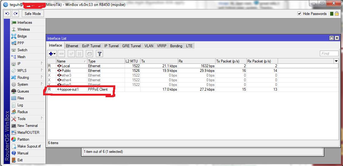 Setting mikrotik sebagai vpn client