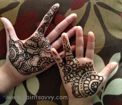 Henna tattoo artist nc | Paint Savvy parties, events and entertainment