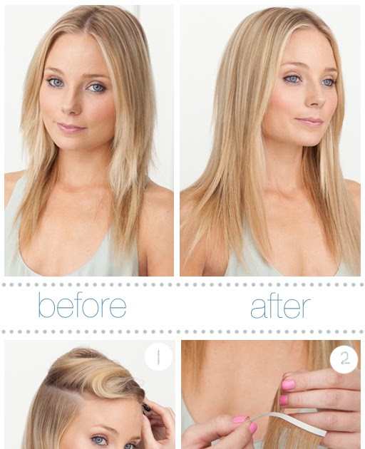 Eat Browse And Love By E What Is Tape Hair Extension