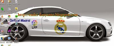 Download tema Real Madrid terbaru musim 2013 2014 untuk windows 7