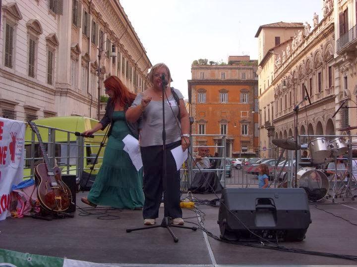 Roma, Piazza S. APostoli 24 settembre 2011