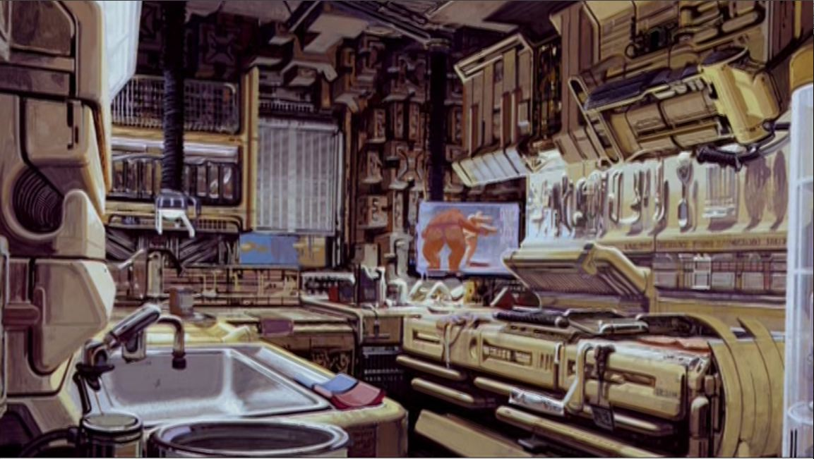 Architecture of Film: Architecture of Blade Runner [1982] Deckard's Apartment