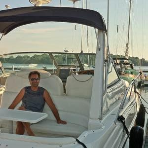 Moi et mon bateau!