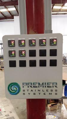 fermentor control board