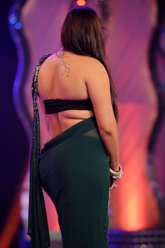 Namitha at Cinemaa Awards  Hot Saree Stills Photogallery sexy stills