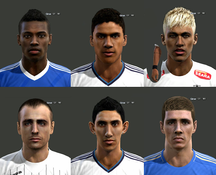 PES 2013 Facepack by m4rc310