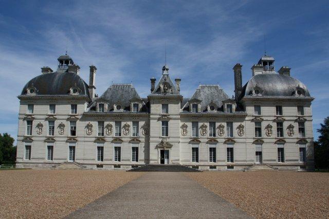 Chateau Castillo de Cheverny en el Valle del Loira