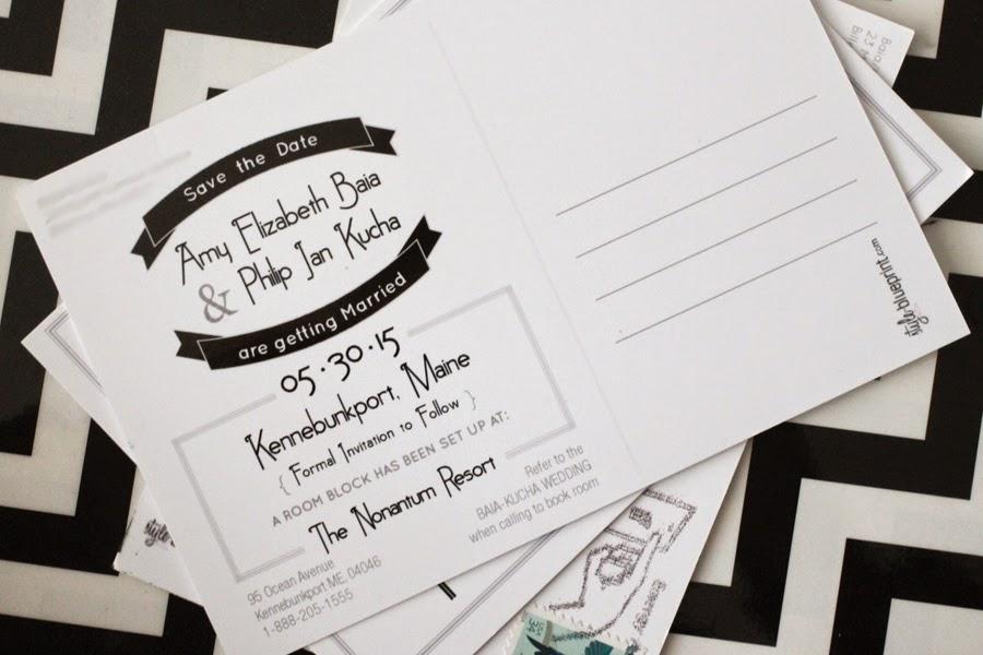 save the date postcard, save the date idea, unique save the date idea, postcard, style-blueprint blog