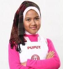puput Master Chef Junior Indonesia