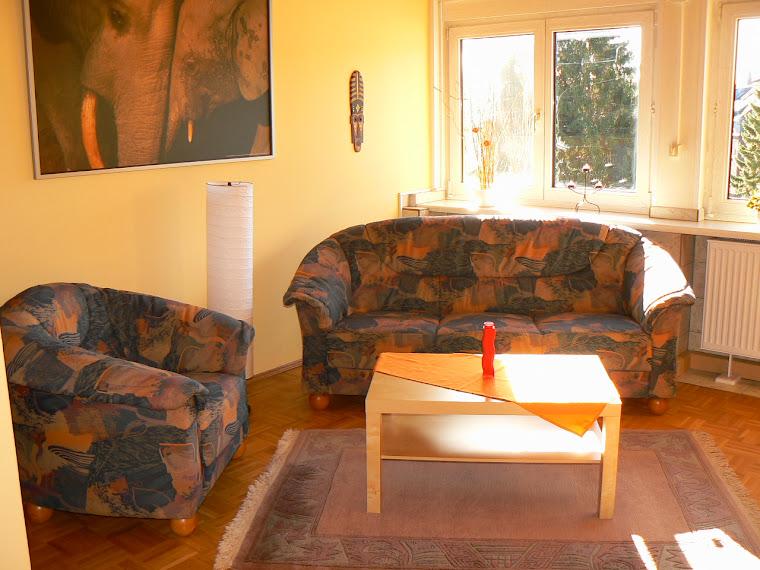 XXL-Apartment 5 - Wohnzimmer