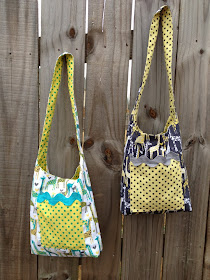 Anna Tote Bag pattern on ETSY