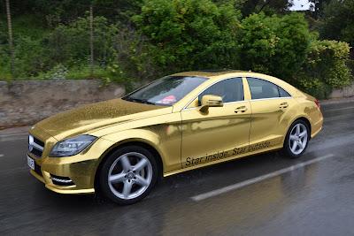 Mercedes-Benz AMG Gold Car Fleet for Cannes Film Festival