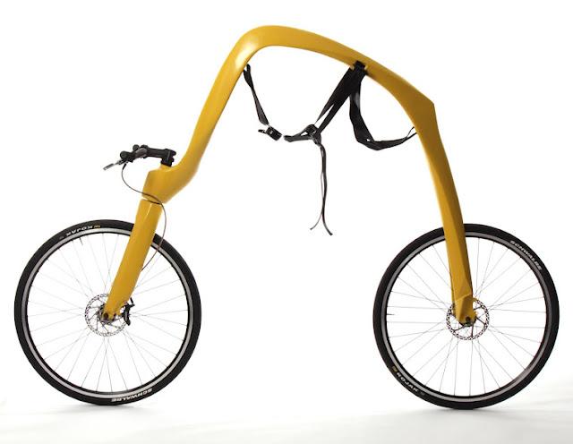 Bicicleta estilo Fred Flinstone