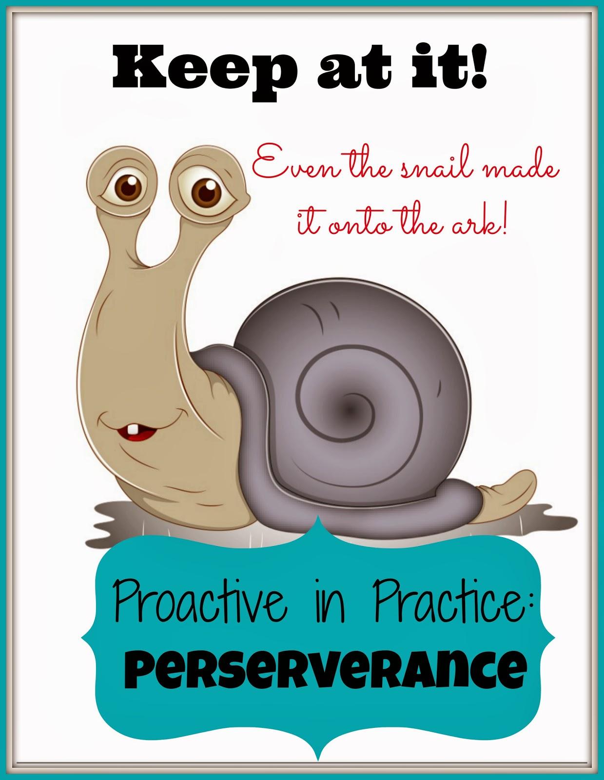 Proactive in Practice - Perservere!