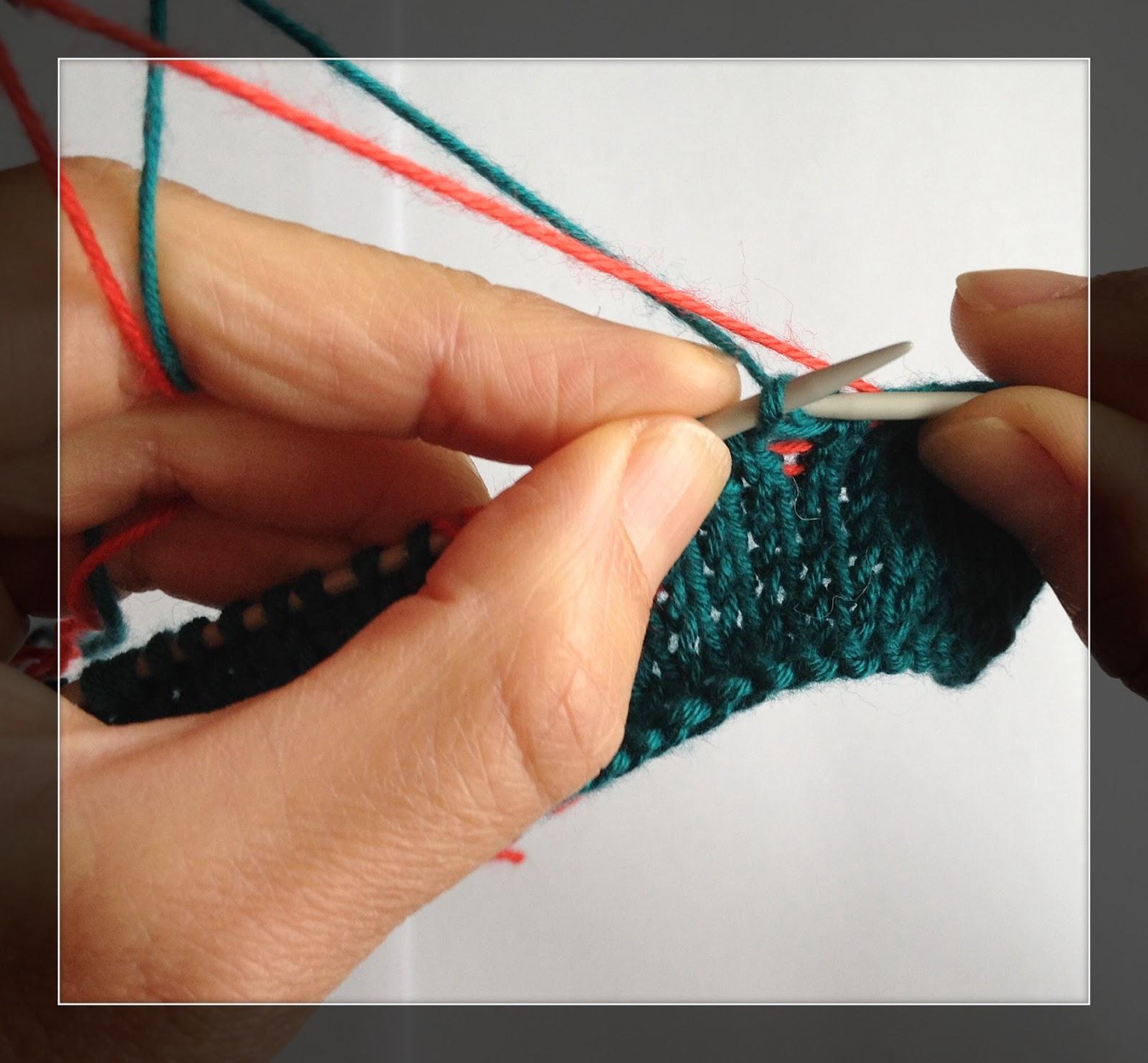 Наперсток для вязания жаккарда