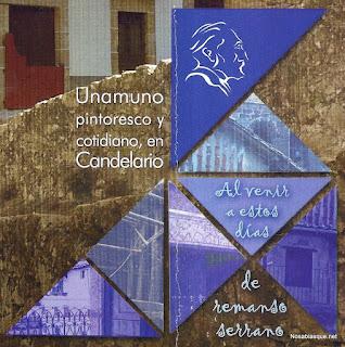 Homenaje a Unamuno en Candelario Salamanca