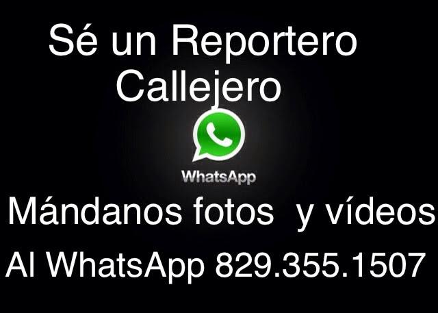 Mándanos tus noticias a WhatsApp