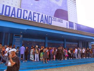 O encontro foi realizado no Teatro João Caetano