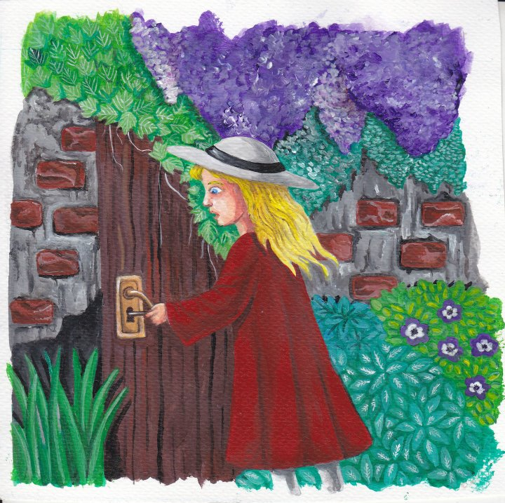 Amazon Com Enchanted Forest An Inky Quest Coloring Book YouTube The Secret Garden Barnes