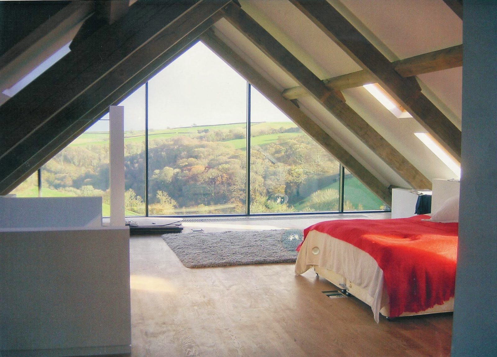 Vineyard Modern Master Bedroom Interior Design