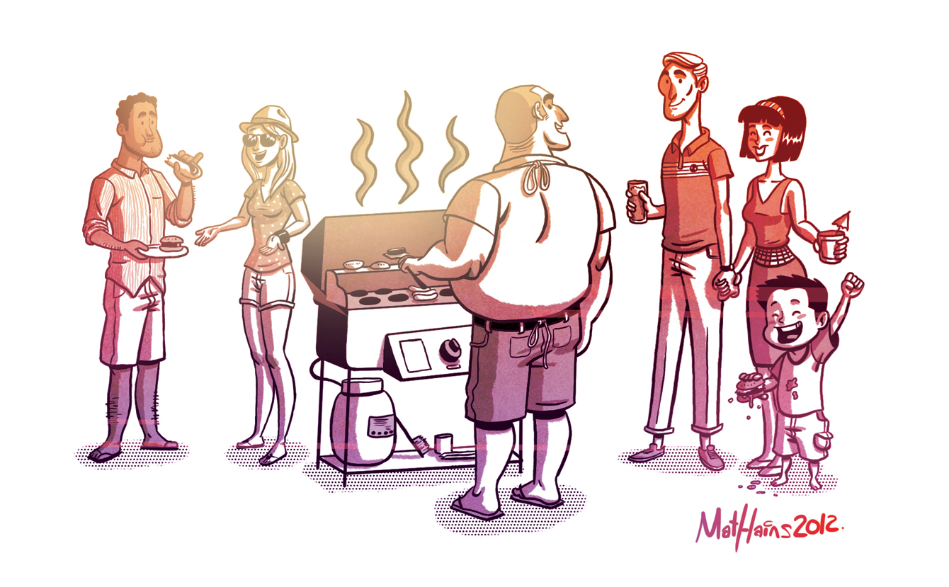 Displaying 19> Images For - Bbq Illustration...