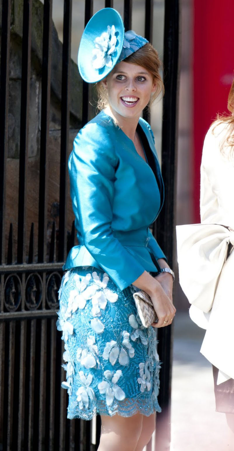 Princess Beatrice Ugly Hat