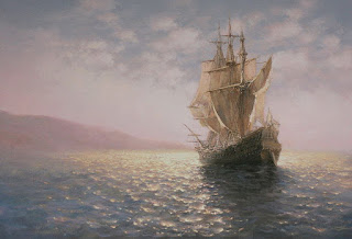 Olas Barcos Paisajes Mar Oleos