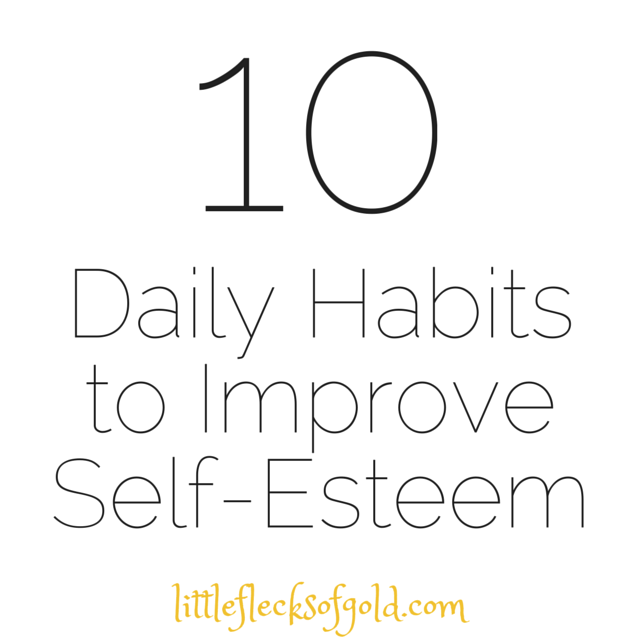 Little things to do everyday to increase your confidence