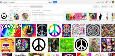 Google permite buscar imágenes bajo diferentes licencias