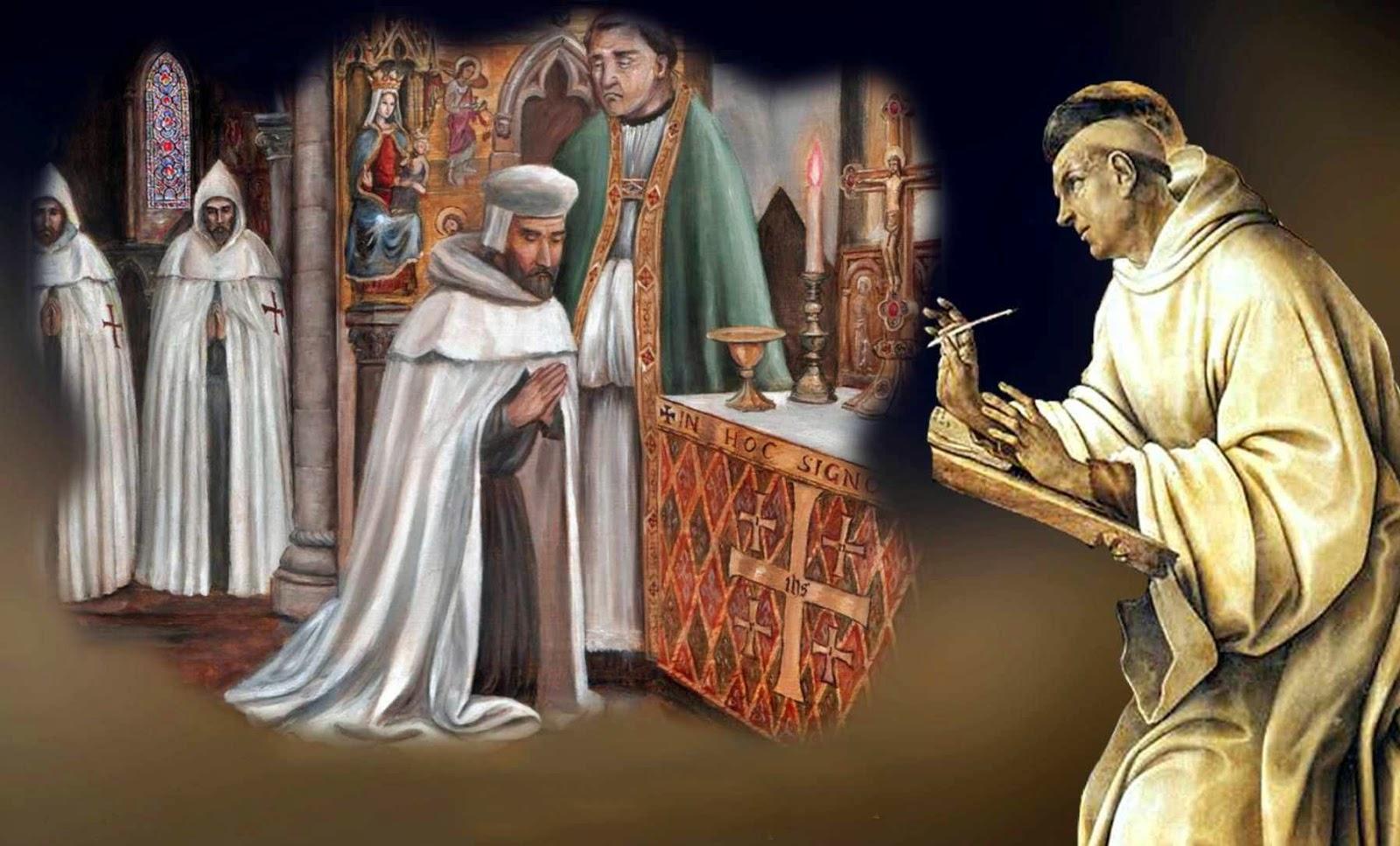 Estímulos de São Bernardo a seu tio André, cavaleiro do Templo