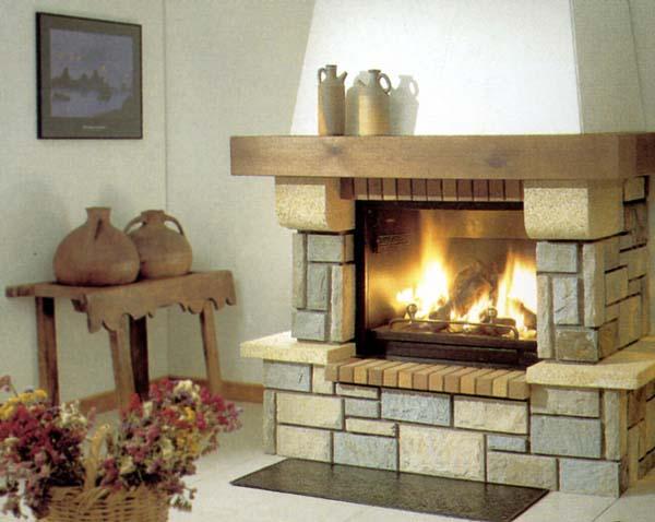 Construcci n de chimeneas - Chimeneas con piedra ...