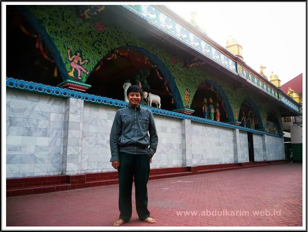 Bagian Belakang Kuil Shri Mariaman Medan