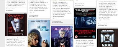 """""""Halloween en la Biblioteca. Selección de relatos y pelis de terror que puedes llevarte prestadas""""."""