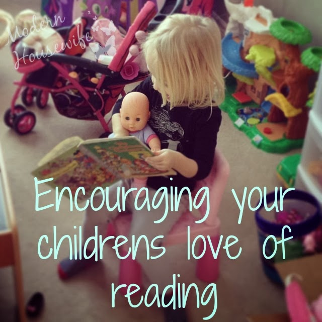 Encouraging your childrens love of reading