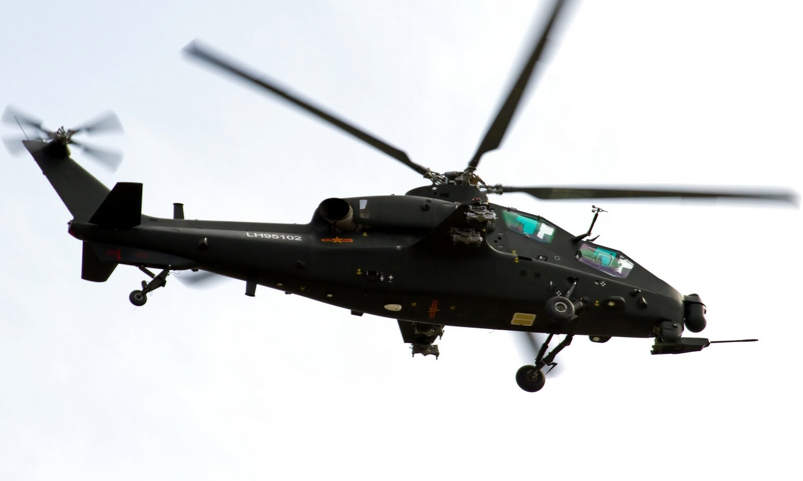 Chinese Z-10 Gunship Helicopter   Global Military Review