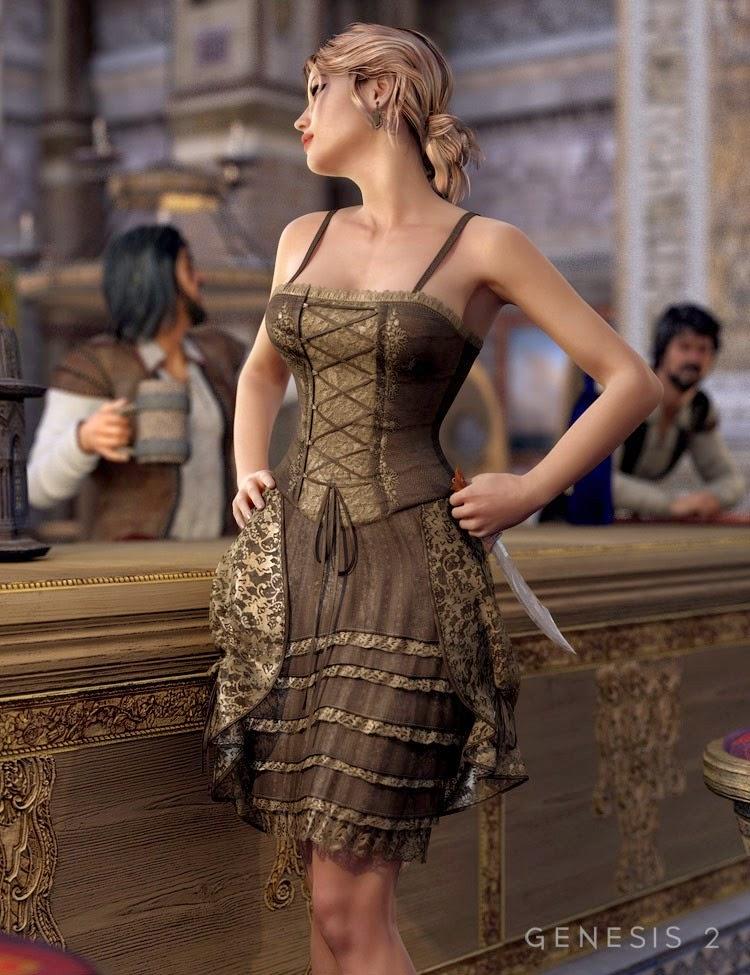 Robe Francesca pour Genesis 2 Femme