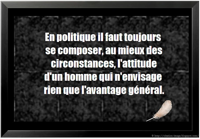 Citation politique en image