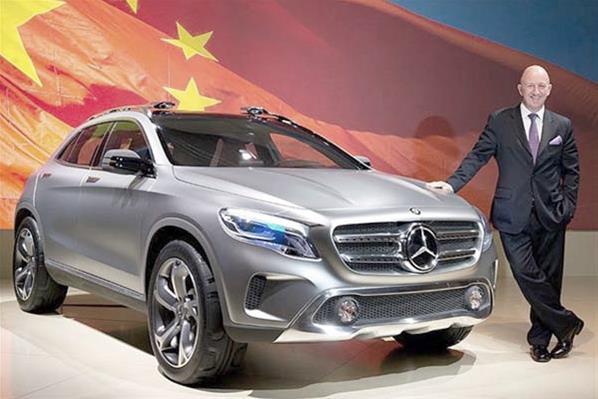 Los mejores autos del Salón de Shanghái 2013: Mercedes GLA